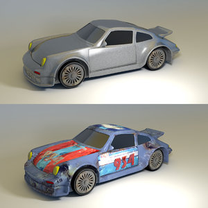 car rusted race 3ds