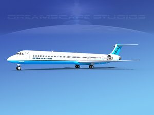 obj md-90 jet commercial
