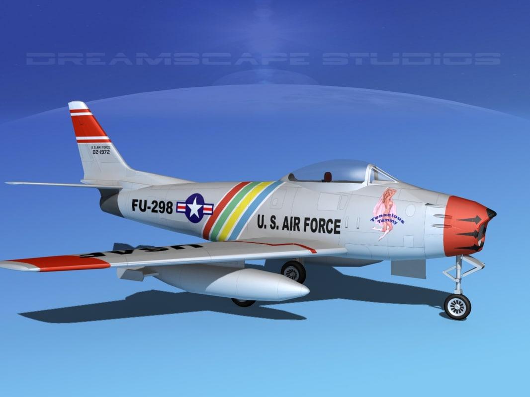 north american f-86 sabre max