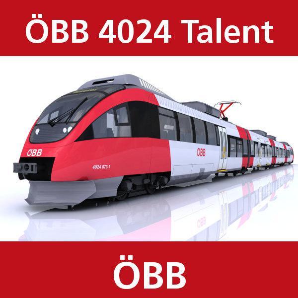 c4d talent passenger train bb