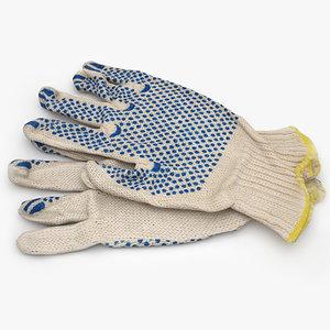 3d work gloves