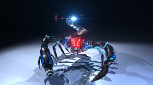 3d model mech scorpion