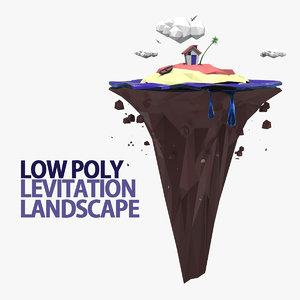 3d levitation landscape