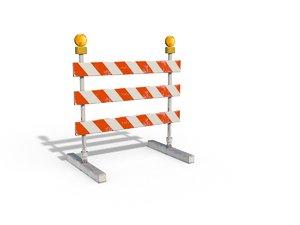 3d construction barrier