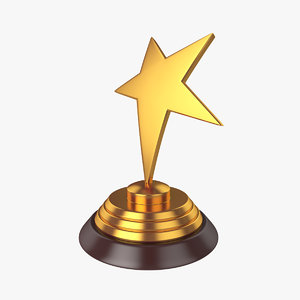 award star 3d model