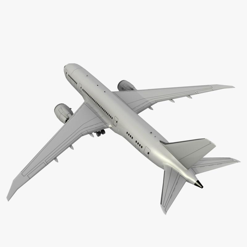 free boeing 787 8 1 3d model