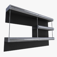 shelf blender 3d obj