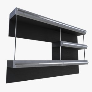 3d shelf blender
