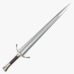 3d model sword marmoset toolbag
