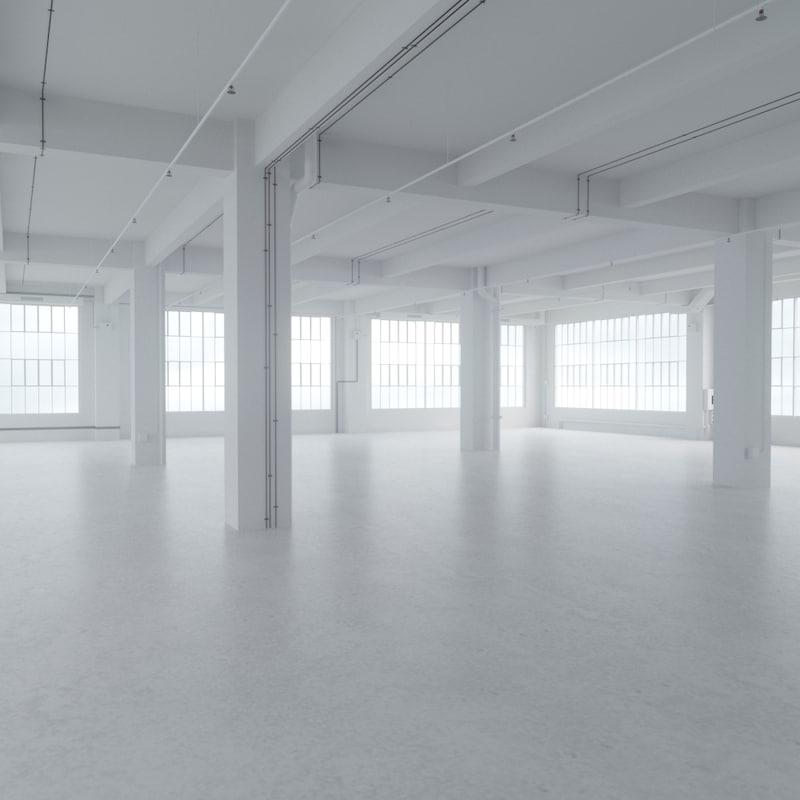 big loft 3d max