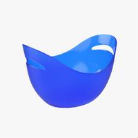 3d bucket oval