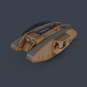 3d model mk4 4