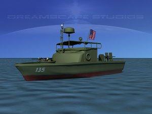 3d model patrol boat pbr