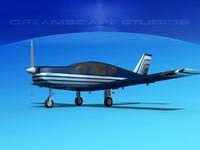 3d propeller tb-20 trinidad model
