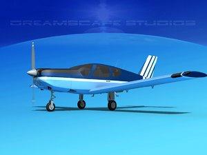 3d model propeller tb-20 trinidad