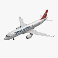Airbus A320 Turkish Airlines Animated
