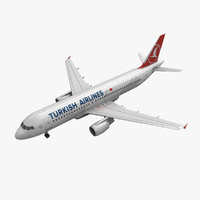 Airbus A320 Turkish Airlines