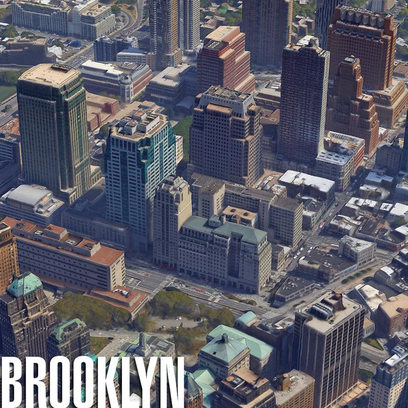 3d city brooklyn new model