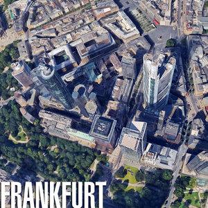 3d city frankfurt model