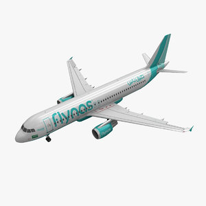 max airbus a320 flynas animation