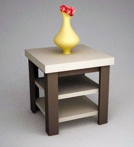 3d table trestle model