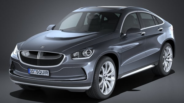 generic suv coupe 3d 3ds