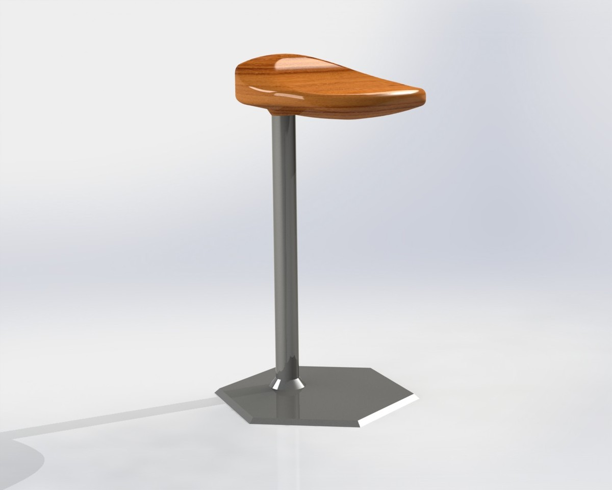 3ds solidworks stool chair