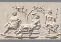 Relief of Portland Vase - Scene A
