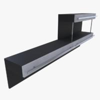 shelf blender 3d obj