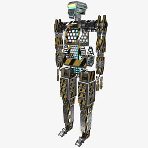 mecha robot 3ds