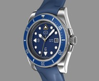diver wrist watch design 3d max