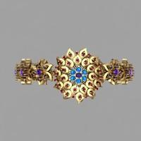 bracelet 3d dxf