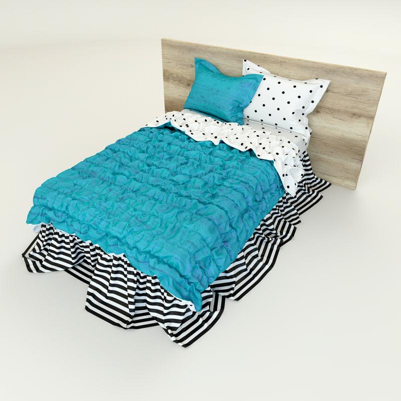 photorealistic bedding max