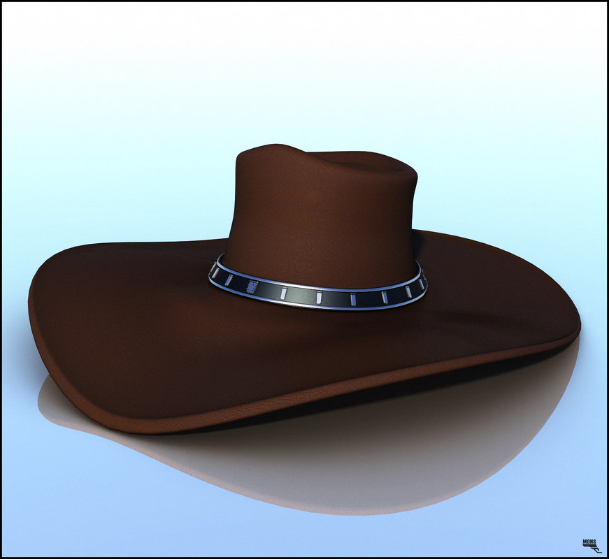 cowboy hat obj
