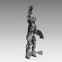 crusader animations 3d max