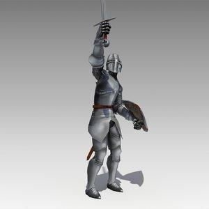 crusader animations 3d max