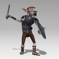 3d model goblin animations