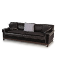 3d max barbara barry suited sofa