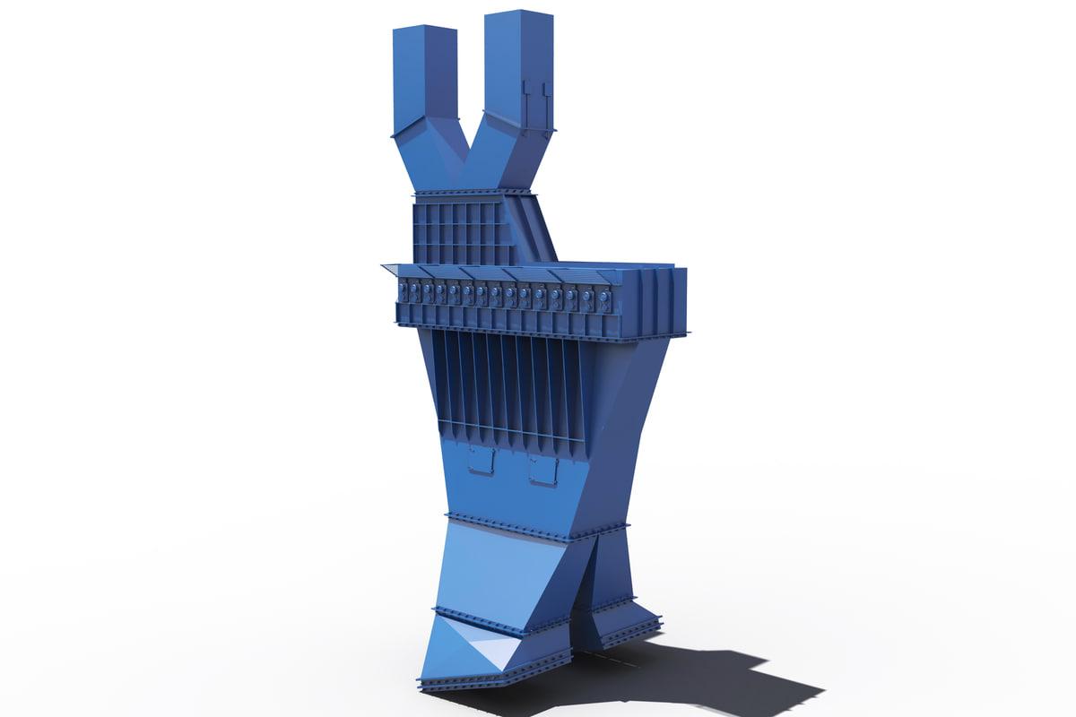 shaker machine 3d model