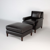 barbara barry armchair 3d model