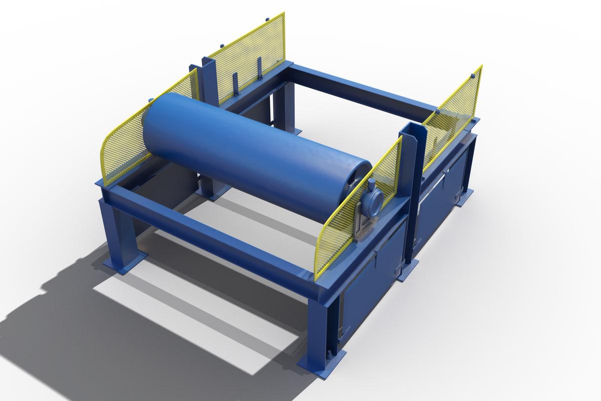 3d obj conveyor belt