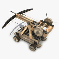 ballista modeled games 3d max