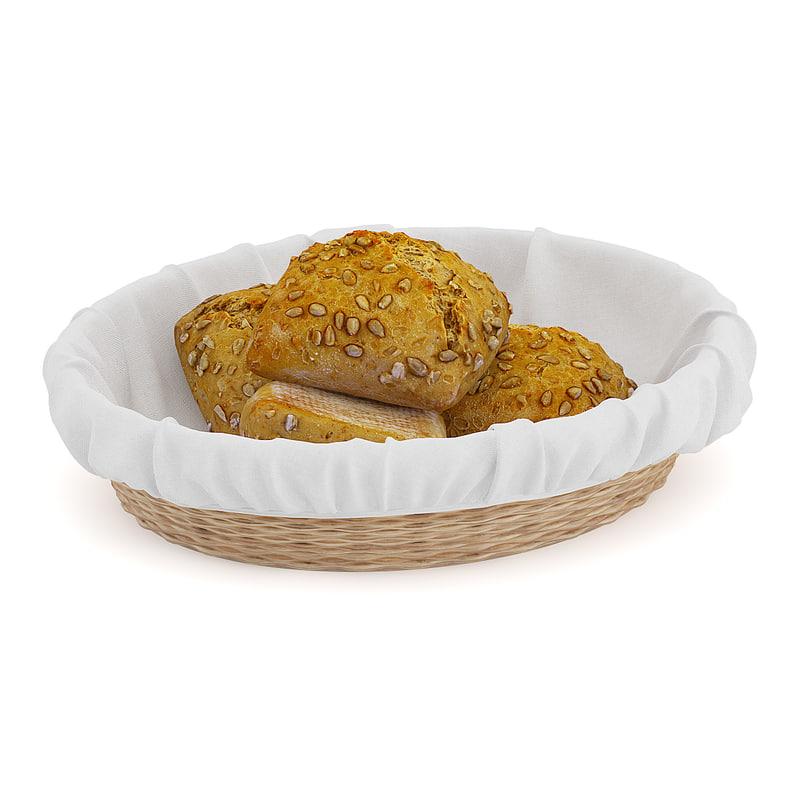 dark buns wicker basket max