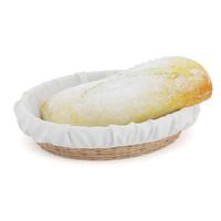 bread wicker basket 3d model