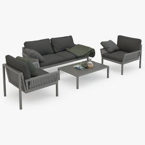 garden sofa set max