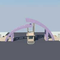 gate entrance 3ds