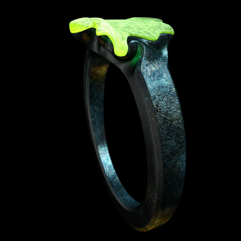 ring glowing 3d model