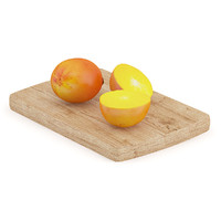 persimmon fruits wooden board max