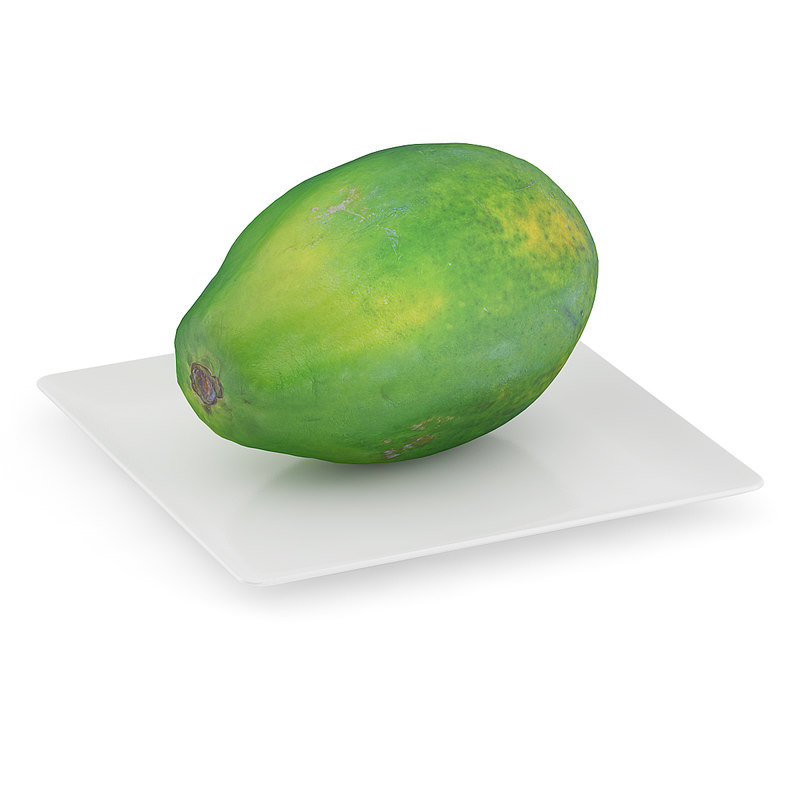 max papaya white plate