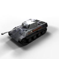 Panzer V Panther Low Poly
